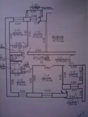 Продам или обменяю 4-х комнатную квартиру в Рогачёве,  на 2-х ком. в Ми