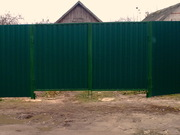 Ворота и калитки под заказ: гаражные,  откатные,  распашные
